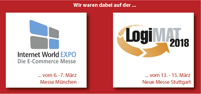 Messeankündigung Homepage Logimat Internetworld News 1