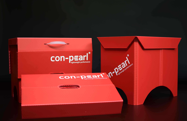 Con-Pearl Festival-Hocker zwei faltbare Varianten leicht flexibel Con-Pearl Web