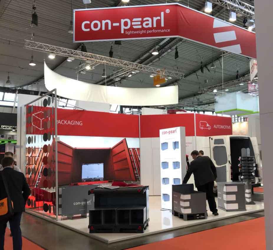 Con-Pearl Mehrwegladungsträger LogiMAT Stuttgart
