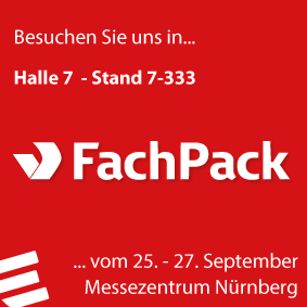 Messeankündigung Homepage FachPack