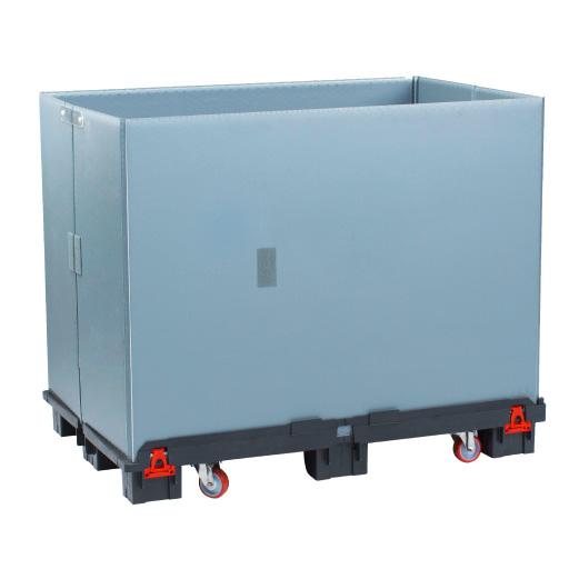Kunststoff Behälter mit Rollen Con-Pearl light ROLL Box