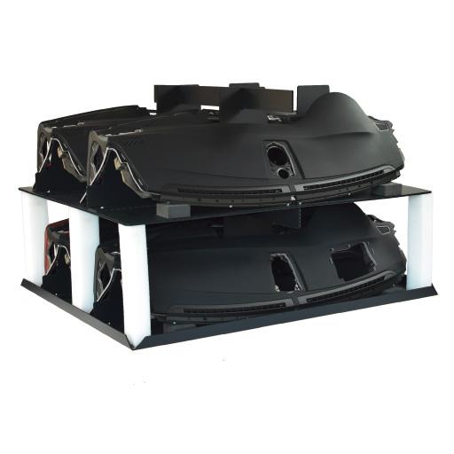Lagerbox Kunststoff stabil und stapelbar
