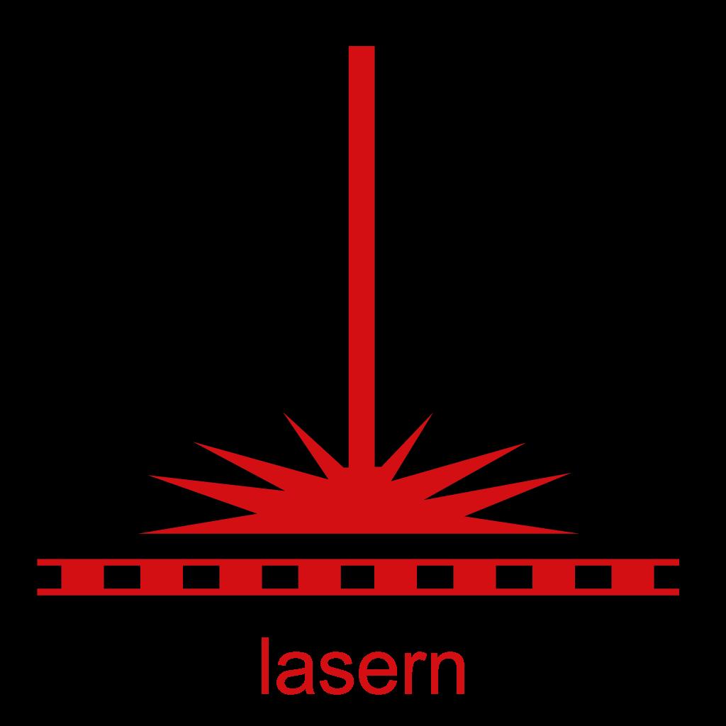 Lasern rot