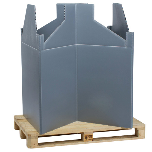 Pallet TOP Box plastic frame for all pallets
