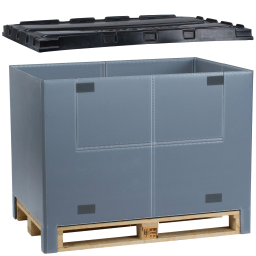 Pallet TOP Box plastic frame