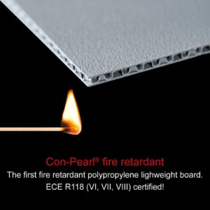 Con-Pearl® lightweight board fire retardant
