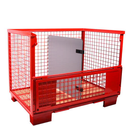 Flexible Unterteilung für Gitterboxen Con-Pearl Kunststoff
