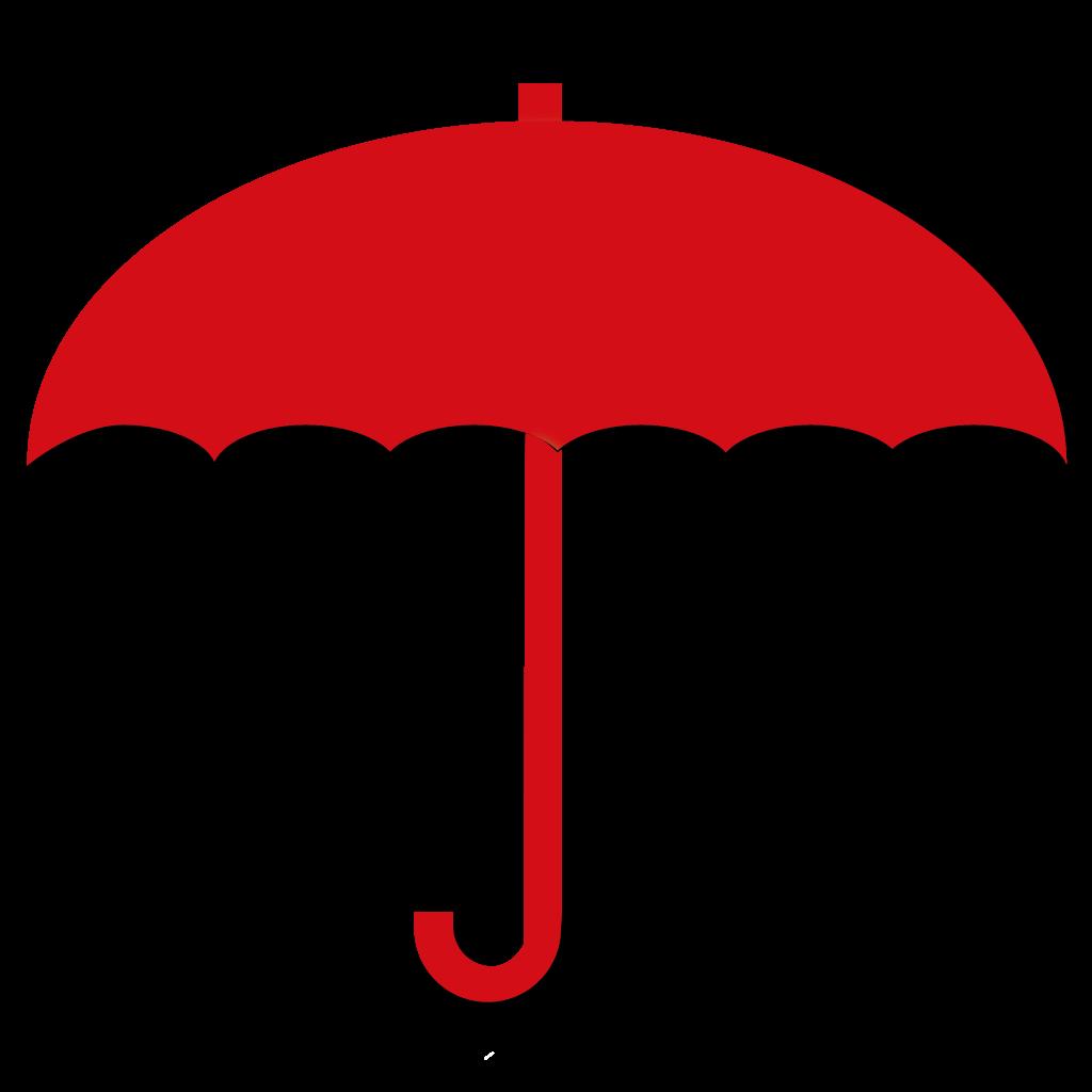 Regenschirm Deckel geöffnet