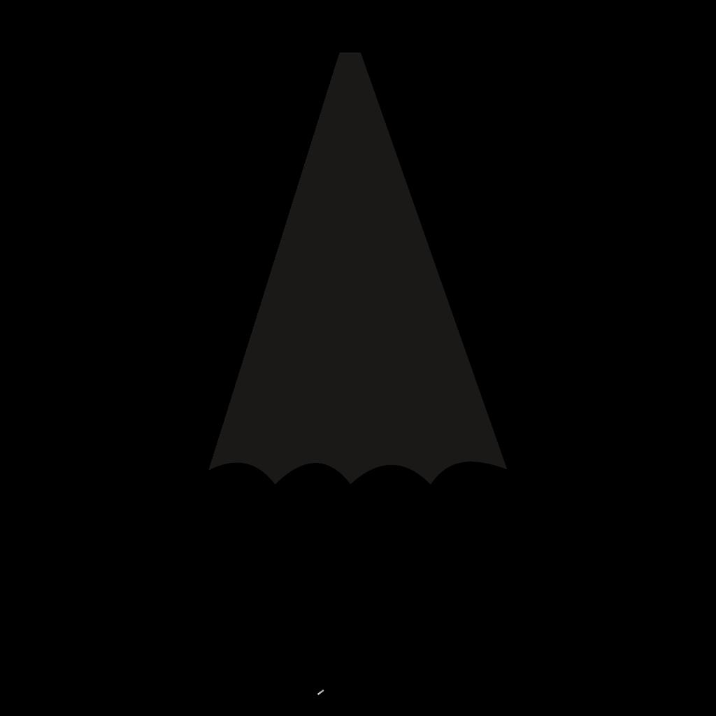 Regenschirm geschlossen