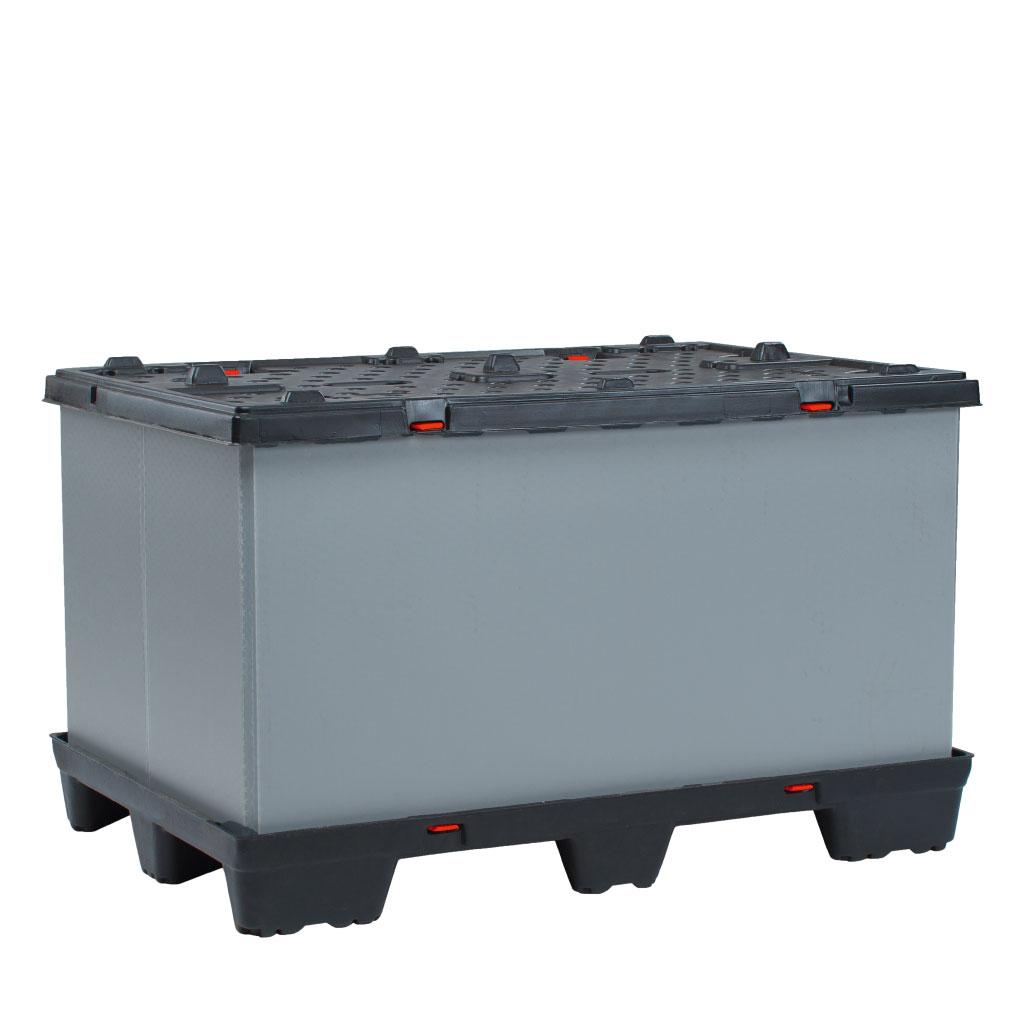 Kunststoff Palettenbox für mittlere Auflasten Con-Pearl