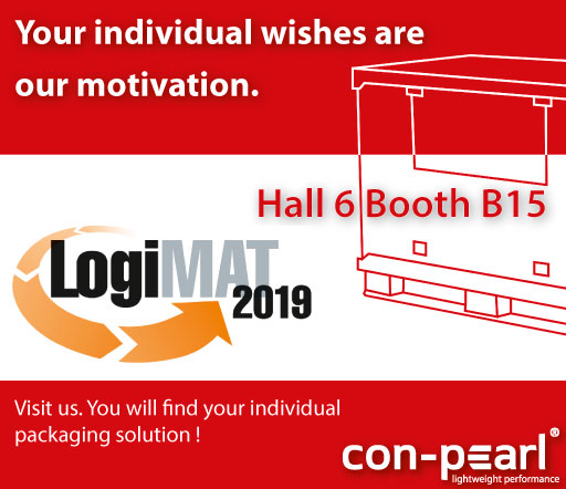 con-pearl at logimat your wishes are our motivation