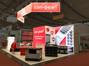 Con-Pearl trade fair logimat