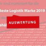 Wir sind unter den Top 10 der besten Logistik Mark 2019.