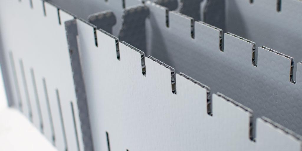 individuelle Steckgefache aus leichtem stabilen kunststoff