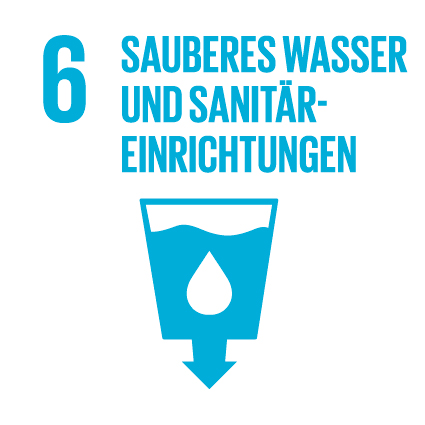 Agenda 2030 sauberes Wasser und Sanitäreinrichtungen