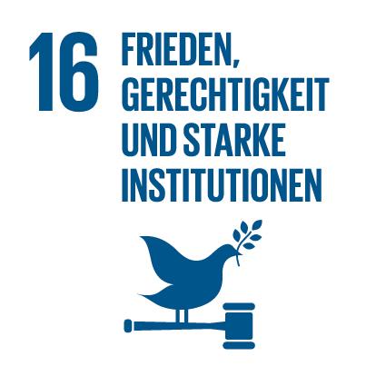 Agenda 2030 Frieden, Gerechtigkeit und starke Institutionen