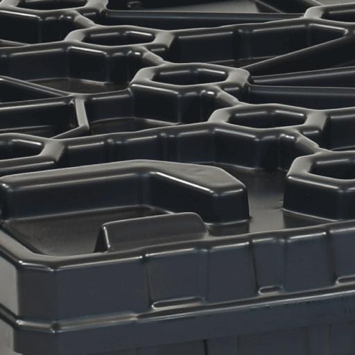 Light WEIGHT Box Systemdeckel - geringe Auflasten